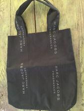 Marc Jacobs Fragrance Black Canvas XL Tote Bag