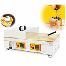 Commercial Nonstick Dorayaki Baker Pancake Maker Souffle Making Machine 110V US