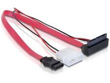 SATA Micro Kabel 16pin Buchse + SATA für 5V abgewinkelt