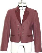 "WOOL Short Designer Jacket German Riding Western Hunting Dirndl Coat B40"" 10 M"
