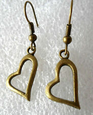 Hook Mixed Metals Drop/Dangle Costume Earrings without Stone