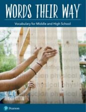 Words Their Way Vocabulary for Middle & High School Teacher Edition Volume 2