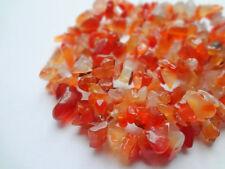 "Genuine Carnelian Chip Gemstone Beads - 35.5"" Strand"