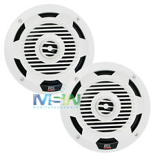 "NEW MTX WET65-W 6.5"" WET Series 2-WAY MARINE AUDIO COAXIAL SPEAKERS WET65W WHITE"