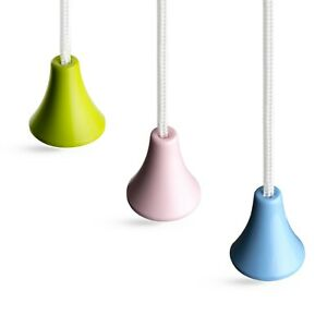 Bathroom Light Pull Strings, Choice Of Three Classic Colours. Ice White Cord.