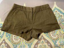 Forever 21 Womens Shorts Small Olive Contemporary Dress Shorts  EUC