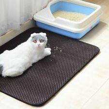 Cat Litter Mat EVA Double-Layer Pet Trapper Waterproof Bottom Non-Slip Leather