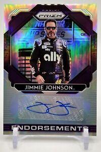 2020 Panini Prizm Endorsements - # E-JJ Jimmie Johnson Auto Hendrick Motorsports