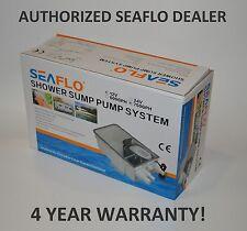 SEAFLO 12V 750GPH Shower Sump Pump System Boat RV Bilge Drain Box