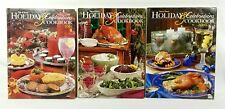 Taste of Home 2001, 2002 & 2003 Holiday & Celebrations COOKBOOK LOT (3 Books)