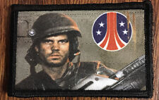 Aliens Hudson Morale Patch Colonial Marines Paxton Tactical Military Army Flag