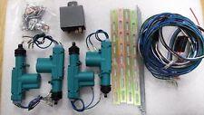 Microscan scl220 2 Puertas Universal Cierre Centralizado Completo Kit De 12 voltios se adapta a cualquier Auto