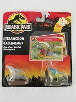 BRAND NEW Kember Jurassic Park Pteranodon Gallimimus Die-Cast Metal Dinosaurs