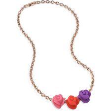 Collana Morellato Drops Colours SABZ193 Allum. oro rosa 3 charms (List. €.29,00)
