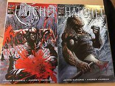 Adam Green's HATCHET #0  American Mythology Mangum LaRocque Variant Cover 3/28