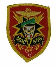 Mac-v SOG Military Assistance Command Vietnam Studies and Observations Patch Vet