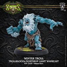 HORDES Trollbloods PIP71120 Winter Troll NEW In Stock