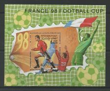 Thematic Stamps Sports - AFGHANISTAN 1997 FOOTBALL 98 MS mint