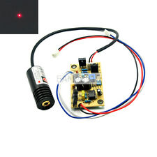 650nm 658nm 100mW Red Laser Dot Diode Module w/ Driver out 5VDC 18x45mm