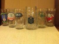 CRAFT BEER Glasses Lot-Various Breweries