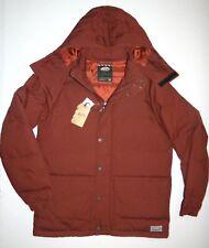 Vans Mens Teton Hooded Polyester Insulated Coat Jacket Medium $180