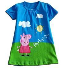 Peppa Pig cotton dress  - New - Size 6-7