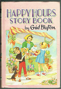 ENID BLYTON, HAPPY HOURS STORY BOOK, HB, 1964, VGC.