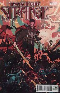 DOCTOR STRANGE #1 2015 JAKUB REBELKA VARIANT COVER! MARVEL COMICS NM OR BETTER!