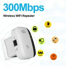 Wireless WiFi Repeater Signal Amplifier 802.11N/B/G Wi-fi Range Extender 300Mbps