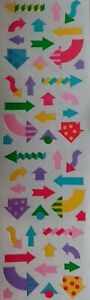 Mrs Grossman`s ARROWS MULTI COLORED 1993 Stickers