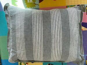 Ralph Lauren Oakview Decorative Pillow, 15 x 20 White Green MSRP $100