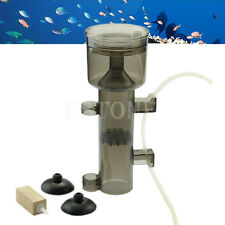 Aquarium Fish Skimmer Protein Tank Waste Collector Filter Wood Tool New