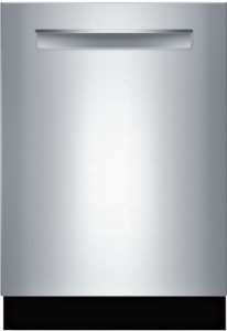 """Bosch SHPM78Z55N 800 Series 24"""" Fully Integrated Dishwasher in Stainless"""