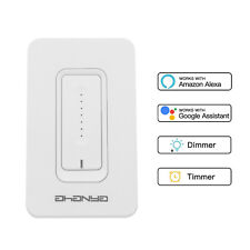 Dimmer Light Switch,WiFi Smart, Timing Switch Compatible with Alexa, Google Home
