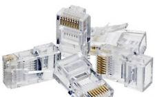 Pack 10 conectores red RJ45 100% FUNCIONAL