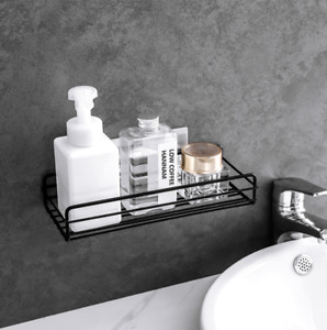 2pk Bathroom Shelf Rack Kitchen Storage Stick Organiser Holder Shower Adhesive