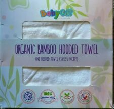 Organic 100% Bamboo Hooded Towel Ultra Soft Absorbent Baby Bath Towel Cloth Dry