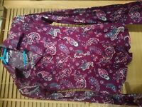 womens shirts size 8 Hawes Curtis