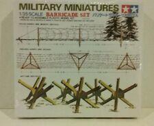 1/35 scale model kit 35027, Tamiya barricade set.