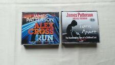 2 JAMES PATTERSON CD AUDIO BOOKS