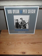 "BOB DYLAN VS PETE SEEGER ""THE SINGER AND THE GONG"" 2 LP NOT LP 2014 SEALED"