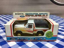 Vintage Ertl 1980's Ford Bronco Toy