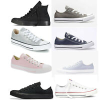 Mens Womens Ladies Converse All Star Ox Oxford Canvas Shoes Trainers Size 3 - 12