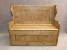 Pine Victorian Antique Benches & Stools