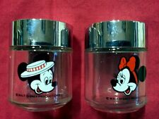 Micky and Minnie Salt and Pepper Shakers