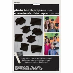 Graduation Chalkboard Booth Prop Kit - Includes Chalk