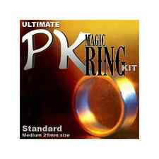 ULTIMATE PK MAGIC RING KIT WITH MEDIUM SIZE RING 21MM + DVD + PEN + WASHER TRICK