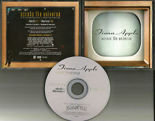 FIONA APPLE Across the Universe EDIT BEATLES Remake Cover Trk PROMO DJ CD single