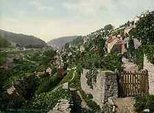 Worcester. Evesham. Stroud. Shalford. Valley.   PZ vintage photochromie, photoch