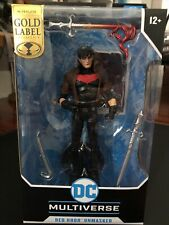 DC Multiverse Red Hood Unmasked Exclusive McFarlane Gold Label New IN HAND